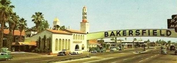 Old Bakersfield Sign